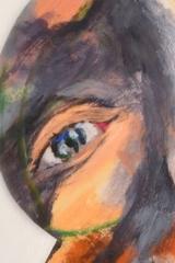 Gretha Hengst - Negenoog detail - Hoofd
